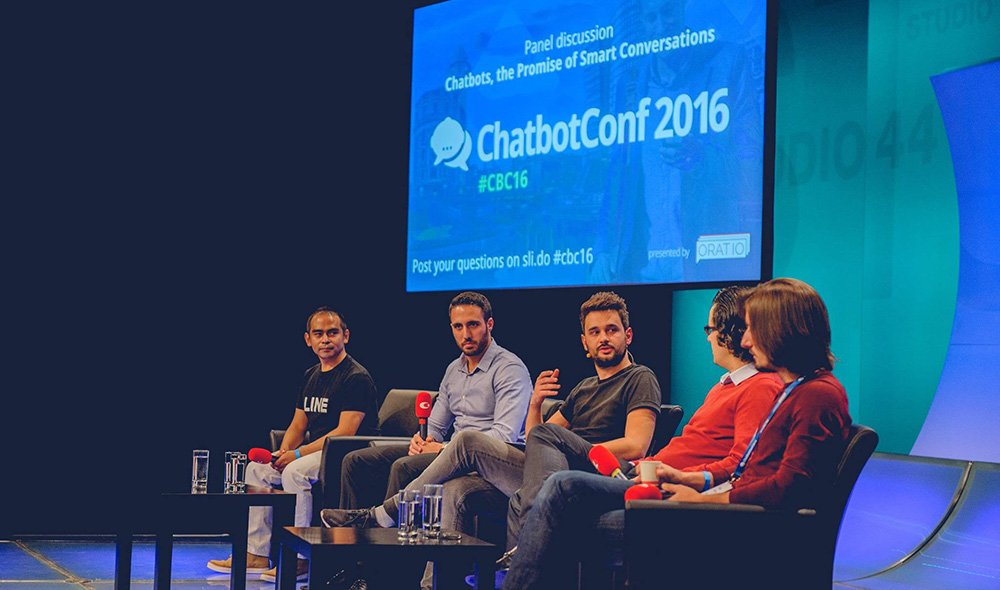 Panel discussion at ChatbotConf 2016
